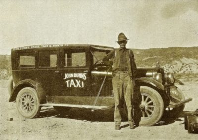 John Dunn bought the first car in Taos