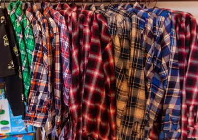 Children's plaid shirts